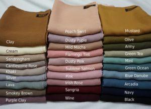Begini Cara Menentukan Warna Hijab Sesuai Warna Kulitmu